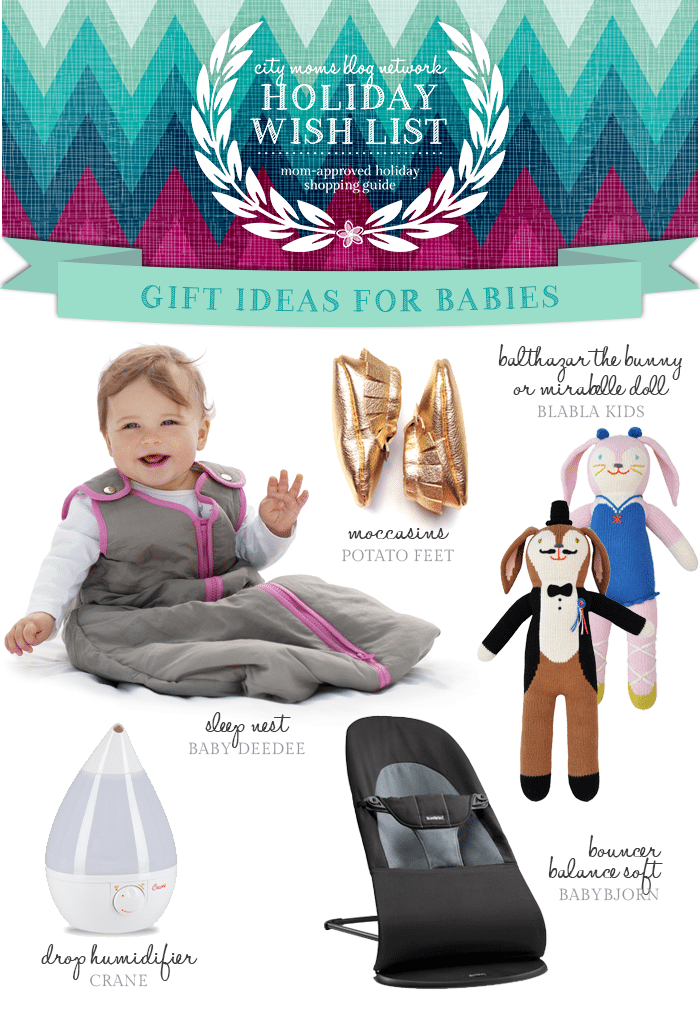 Gift Guide for Babies #CMBNWishList 2014 - City Moms Blog Network