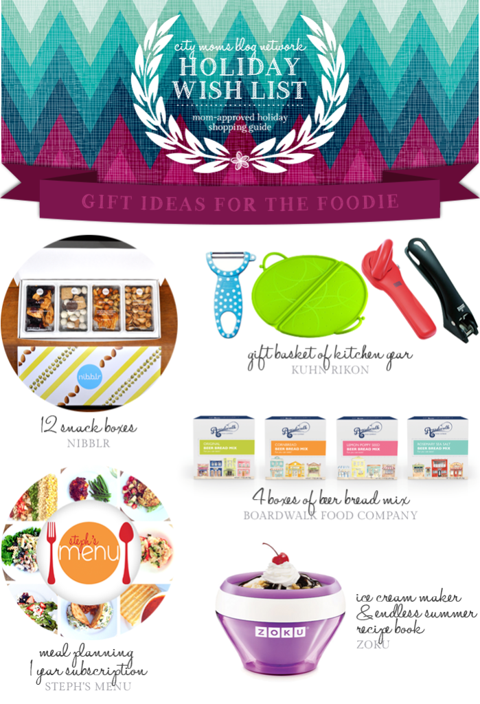 Gift Guide for The Foodie #CMBNWishList2014 - City Moms Blog Network