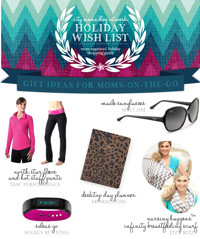 Gift Guide for Moms On The Go #CMBNWishList2014 - City Moms Blog Network