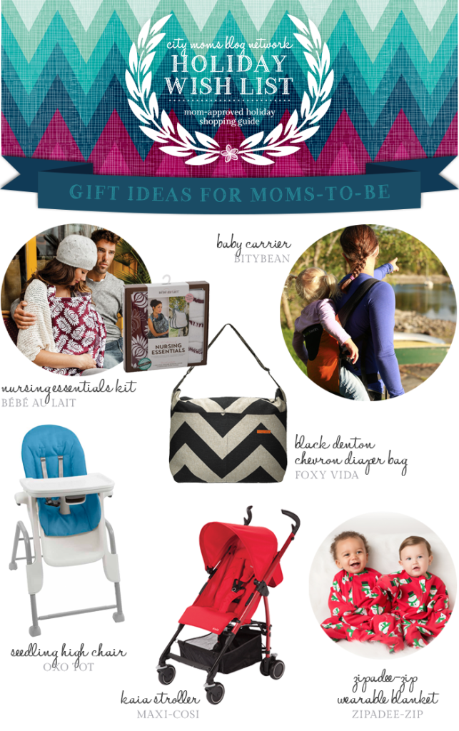 Gift Guide for Moms-To-Be #CMBNWishList2014 - City Moms Blog Network
