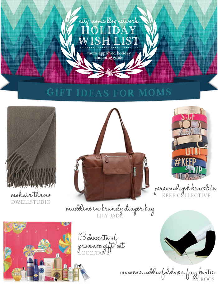 Gift Guide for Moms #CMBNWishList2014 - City Moms Blog Network