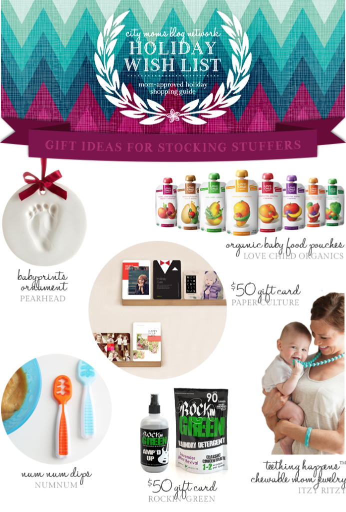 Gift Guide for Stocking Stuffers #CMBNWishList2014 - City Moms Blog Network