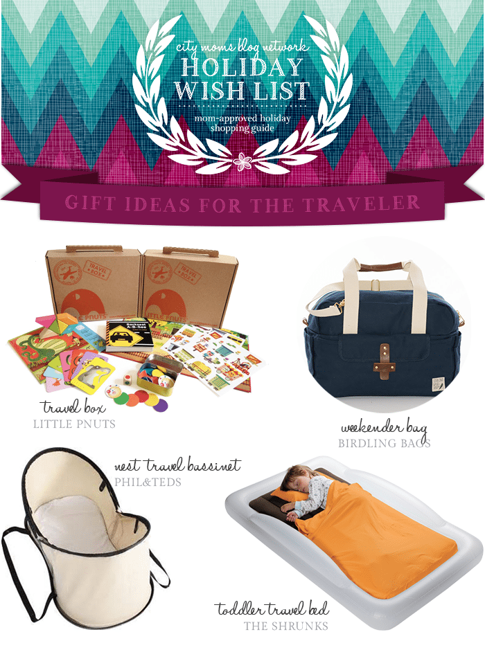 Gift Guide for Travelers #CMBNWishList2014 - City Moms Blog Network