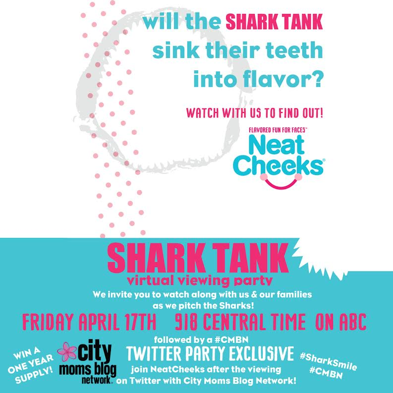 City Moms Blog Network Partners With SharkTank Contestant, NeatCheeks, Sweet Flavored Face Wipes For Kids