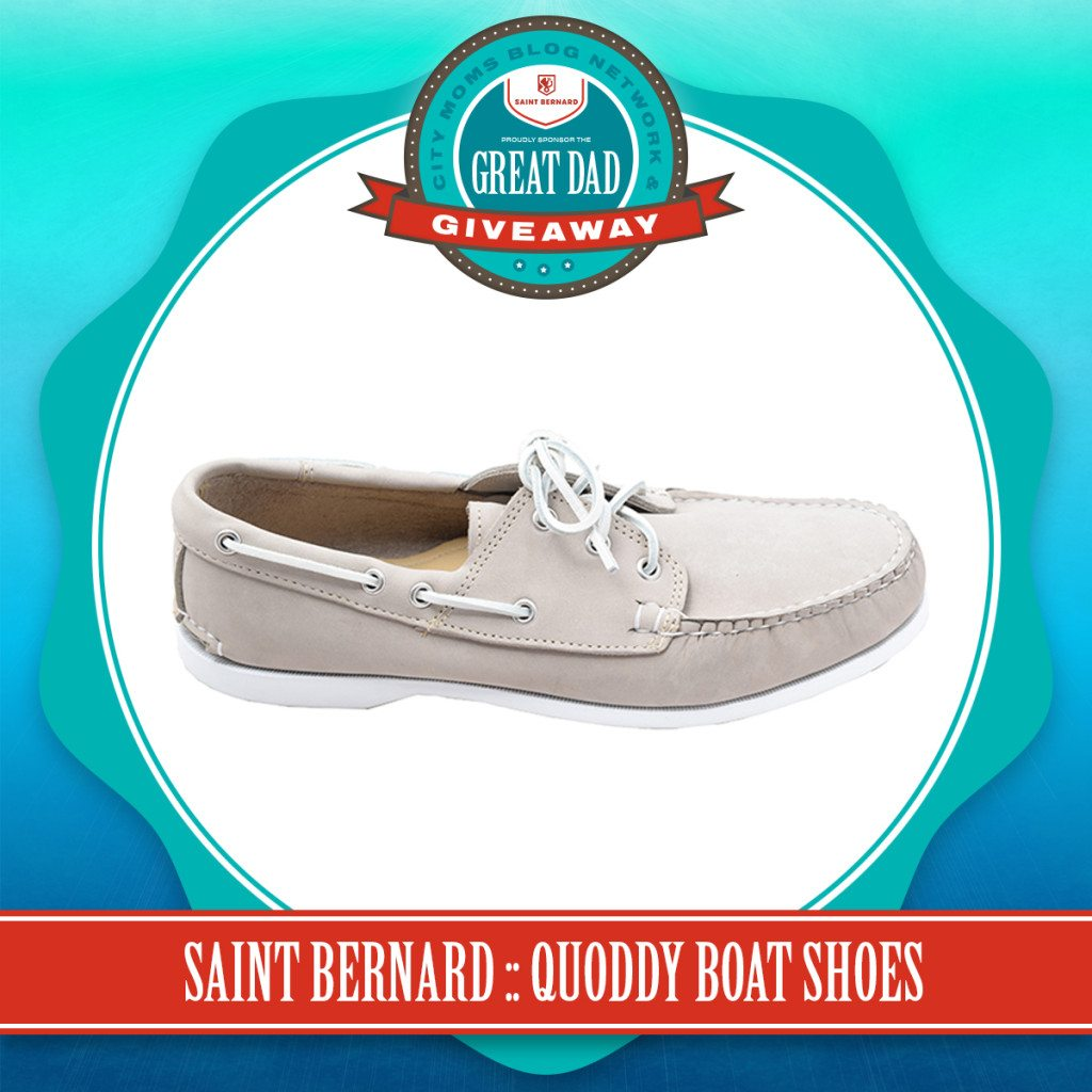 2015 Father's Day Gift Guide - Quoddy Boat Shoes - City Moms Blog Network