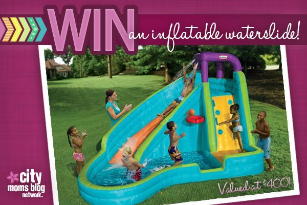 Inflatable Waterslide Giveaway from City Moms Blog Network
