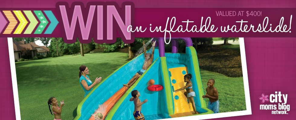 Inflatable Waterslide Giveaway for Summer from City Moms Blog Network
