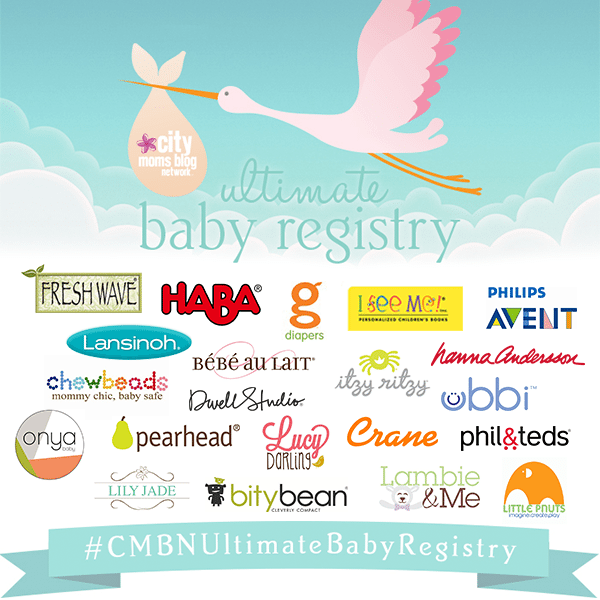 City Moms Blog Network Ultimate Baby Registry 2015 - Gift Ideas and Products for Babies
