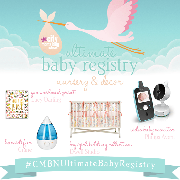 #CMBNUltimateBabyRegistry - Baby Gift Registry 2015 - Gift Ideas for babies - nursery decor