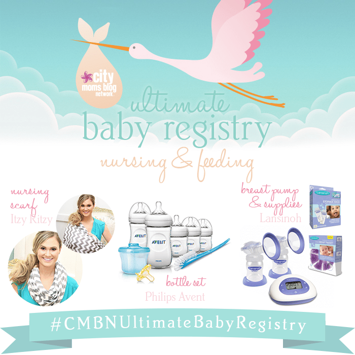 #CMBNUltimateBabyRegistry - Baby Gift Registry 2015 - Gift Ideas for babies - bottles, breast pumps and nursing