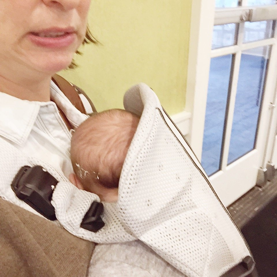 The One Baby Carrier - BabyBjorn - City Moms Blog Network
