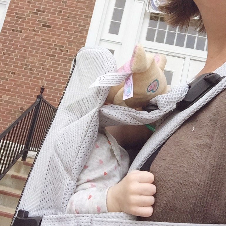 BabyBjorn The One Baby Carrier Review - City Moms Blog Network