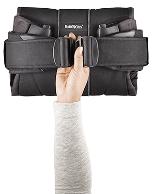 BabyBjorn The One Folded Baby Carrier - City Moms Blog Network