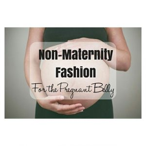 NonMaternity Clothes for the Pregnant Belly from bostonmomsblog I canthellip