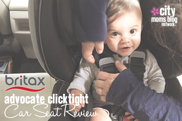 Britax Advocate ClickTight Car Seat Review - City Moms Blog Network