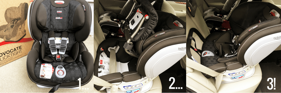 Britaz Advocate ClickTight Car Seat - City Moms Blog Network