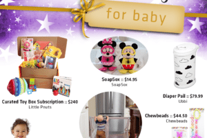 2016 Gift Guide For Babies - City Moms Blog Network Holiday Wish List