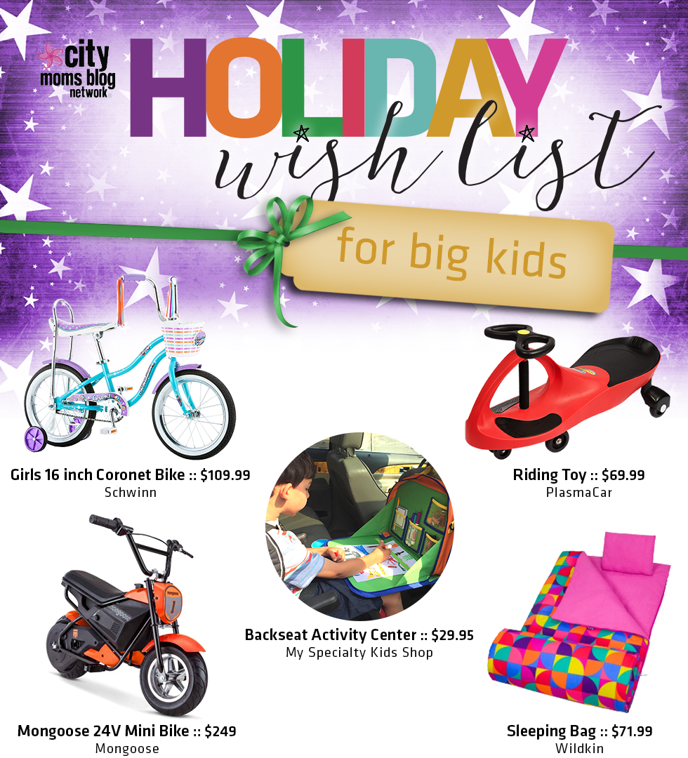 2016 Gift Guide For Big Kids - City Moms Blog Network Holiday Wish List
