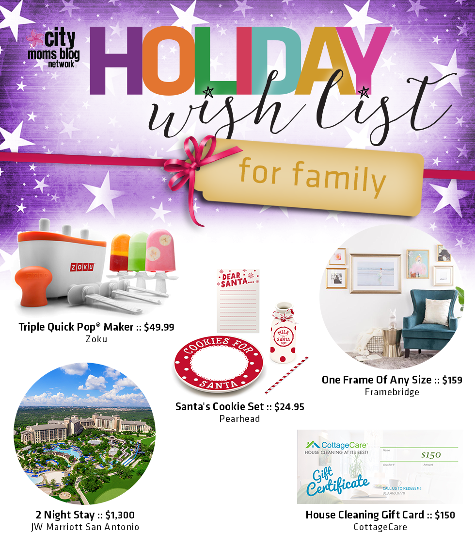 2016 Gift Guide For The Family Giveaway Cmbn Holiday