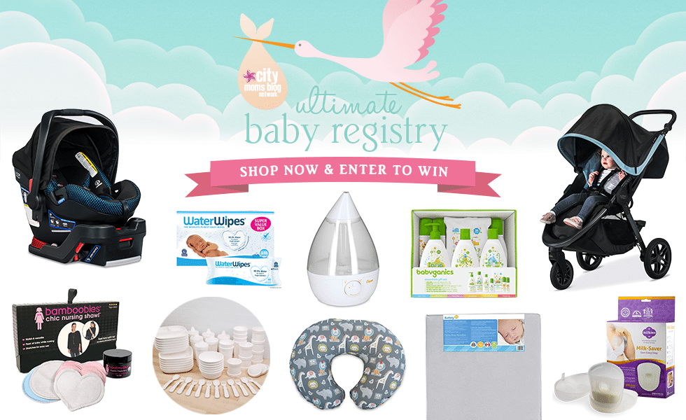 City Moms Blog Network's Ultimate Baby Registry 2018